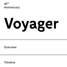 <cite>Voyager. The Grand Tour</cite>
