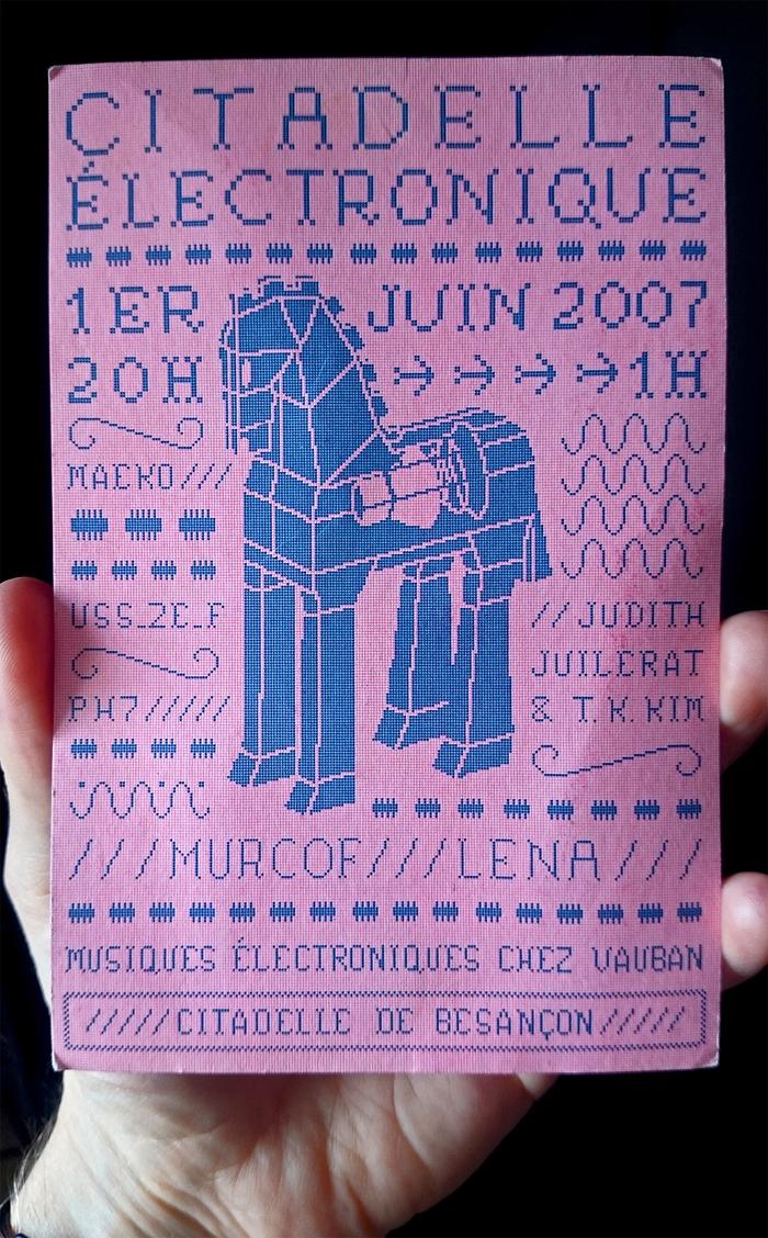 Citadelle Électronique music festival 1