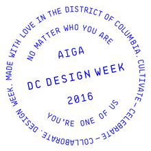 AIGA Washington DC Design Week