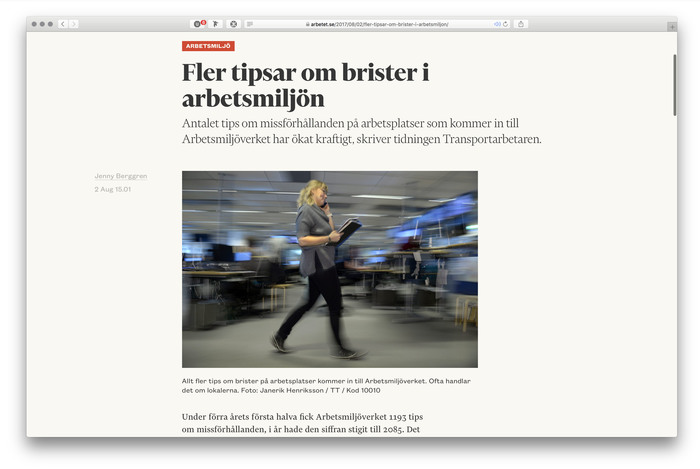 Arbetet website (2017) 4