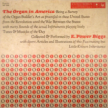 <cite>The Organ in America</cite> album cover