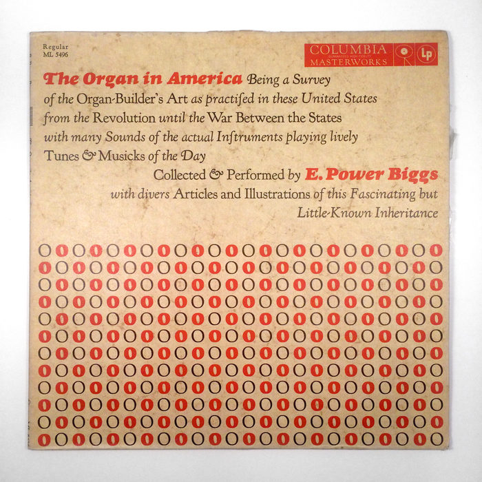 The Organ in America album cover