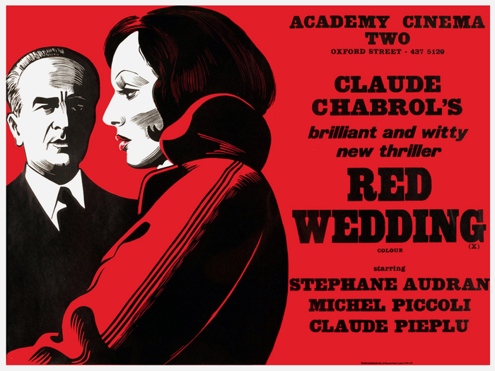 "AKA Wedding in Blood (FR 1973) — The generically named Egyptienne comes somewhat close for ""Red Wedding"". The italic for ""brilliant…"" is very similar to Doric Italic No. 1."