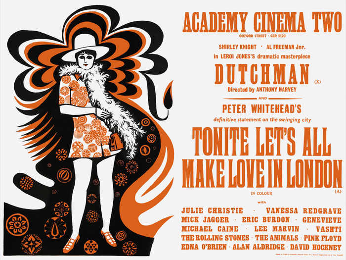 Tonite Let's All Make Love In London (UK 1967) and Dutchman (UK 1966) — WTC Banger from Borutta's Wood Type Collection appears to be based on a model very similar to largest type. Unfortunately Mateusz Machalski doesn't mention the sources of his digital interpretation.