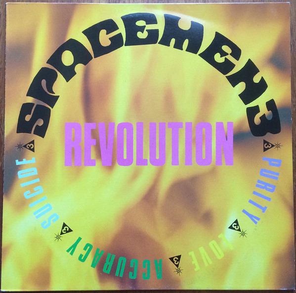 "Cover of albums first single, released in 1988, ""Revolution."" Also featuring British Inserat."