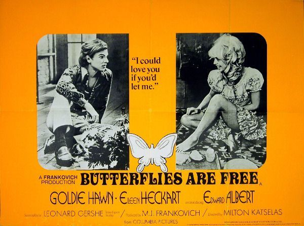 Butterflies Are Free movie posters 2