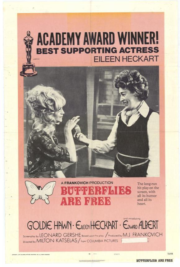 Butterflies Are Free movie posters 3