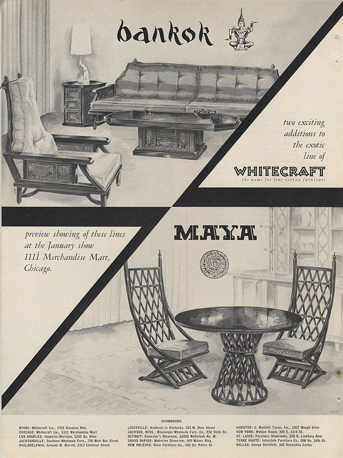 Whitecraft, Inc. logo and ads 2