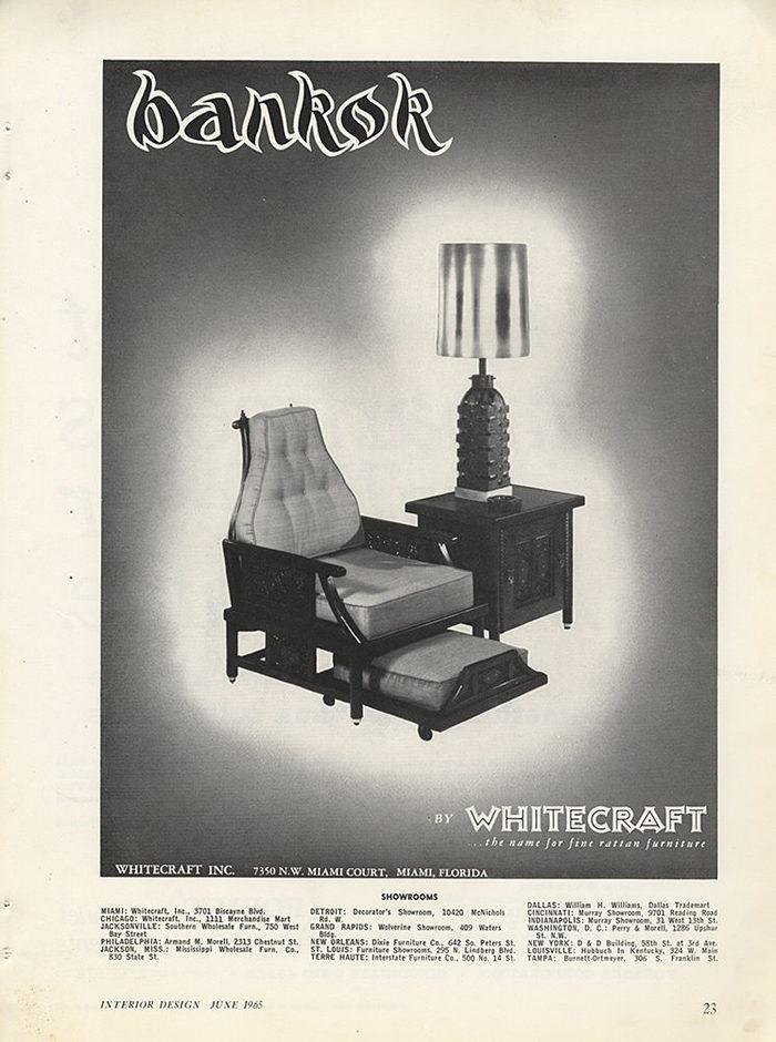 Whitecraft, Inc. logo and ads 3