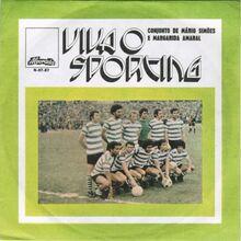 Conjunto De Mário Simões e Margarida Amaral — <cite>Viva O Sporting</cite>
