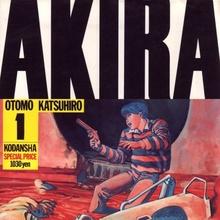 <cite>Akira</cite> by Katsuhiro Otomo