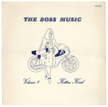 The Boss Music – <cite>Vol. 1 Kitten Kind </cite>album art