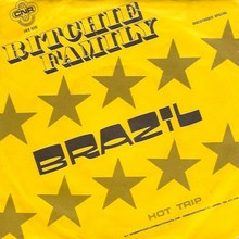 "The Ritchie Family – ""Brazil"" Dutch single cover"