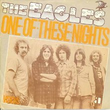 "Eagles – ""One Of These Nights"" Dutch single cover"