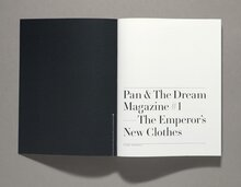 <cite>Pan &amp; The Dream Magazine</cite> #1
