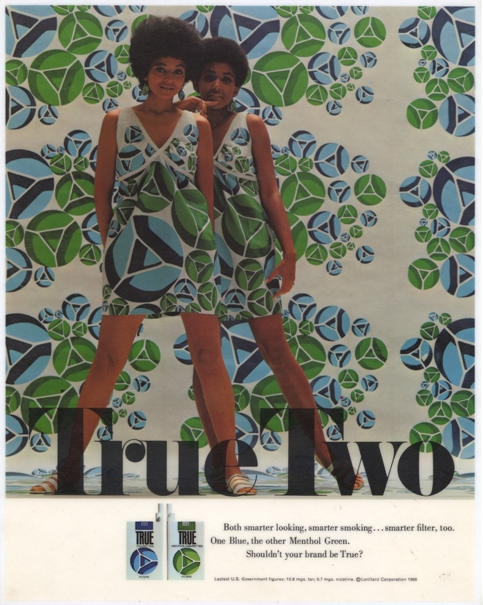 """True Two"" Menthol Green ad"