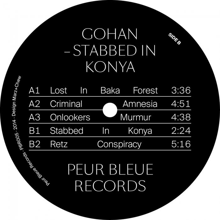 Peur Bleue Records 11