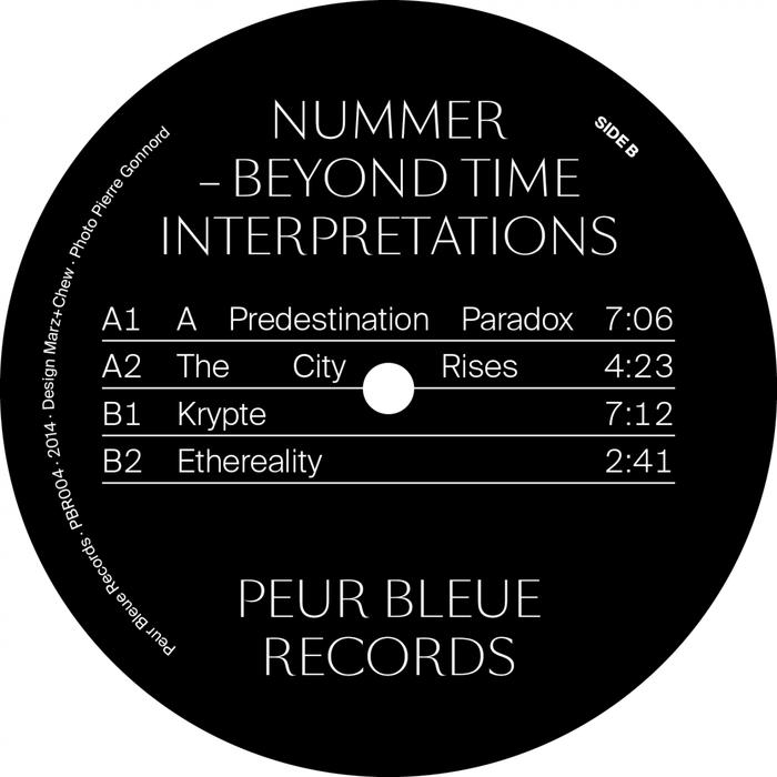 Peur Bleue Records 12