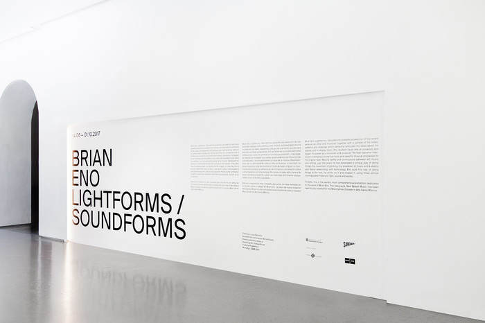 The texts in the exhibition are trilingual: Catalan, Spanish, and English.