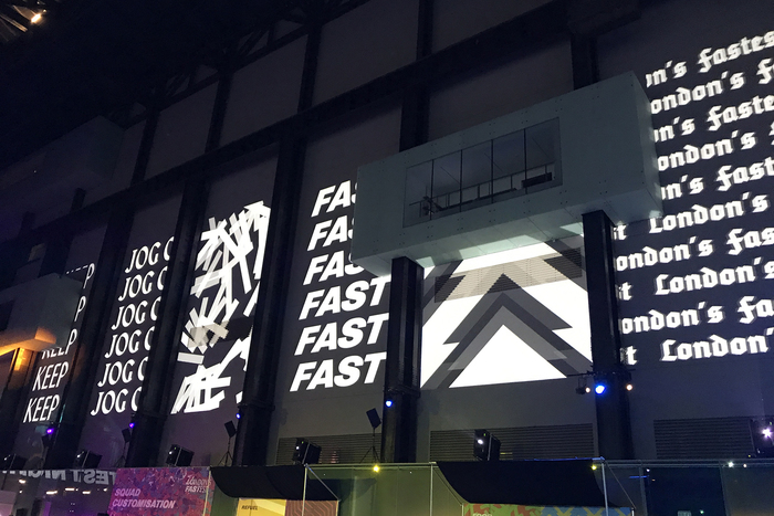 """Fastest Night"" event by Nike 6"