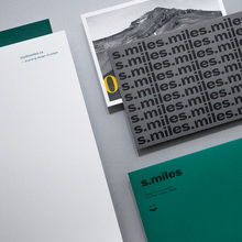 Studio Miles visual identity