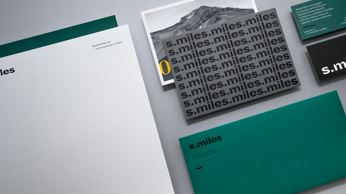 Studio Miles visual identity 1