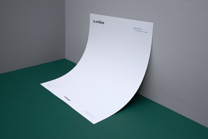 Studio Miles visual identity 3