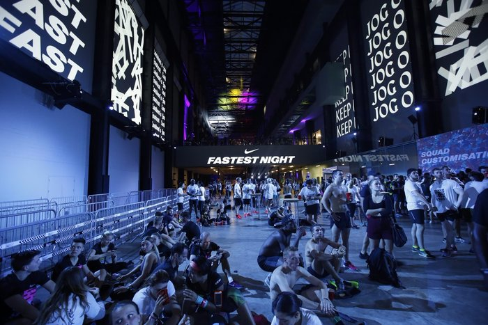 """Fastest Night"" event by Nike 4"