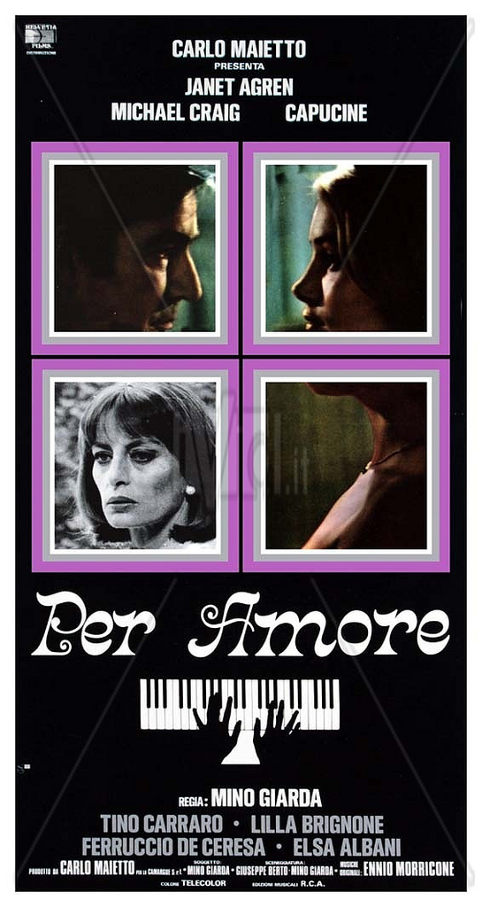 Per Amore movie posters and score 2