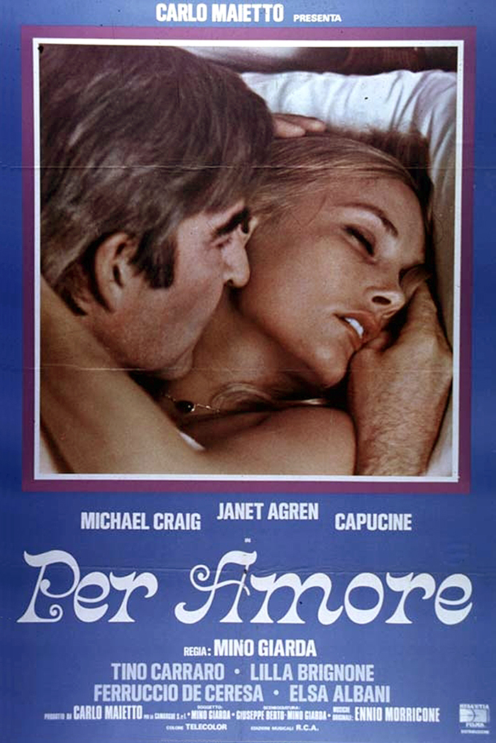 Per Amore movie posters and score 1