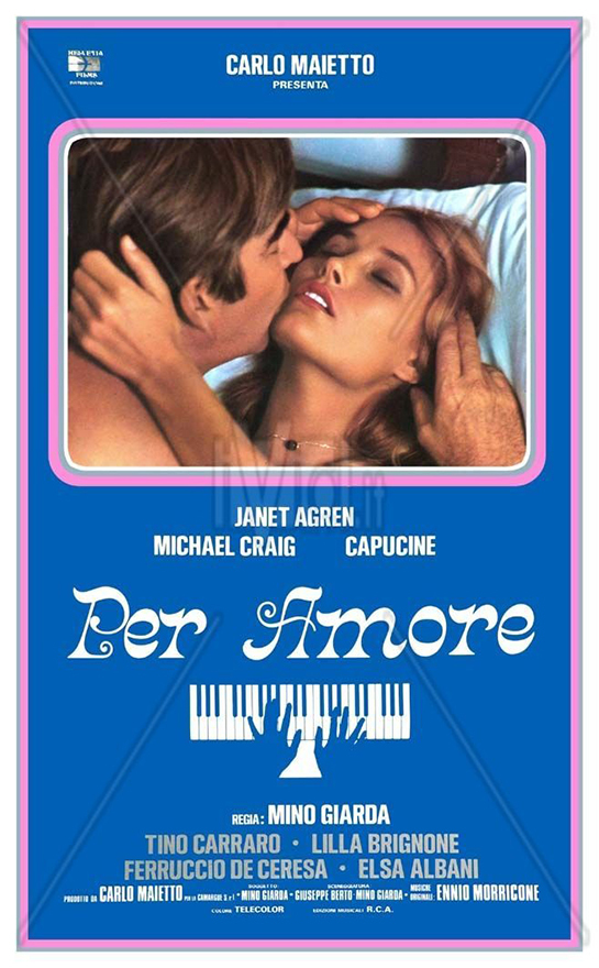 Per Amore movie posters and score 11