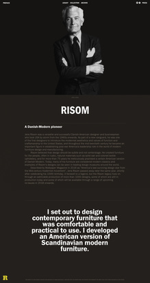 Story of Jens Risom