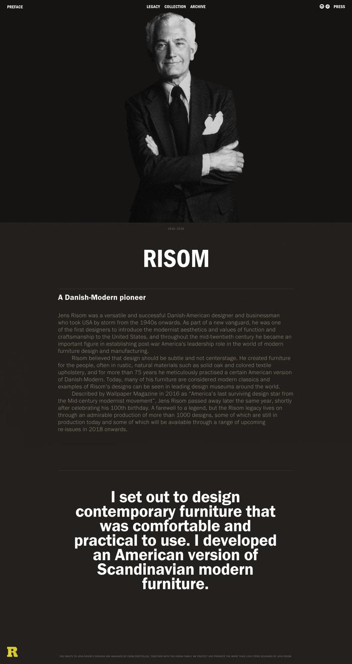 Story of Jens Risom 1