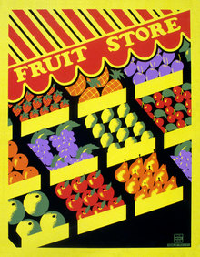 <cite>Fruit Store</cite> poster