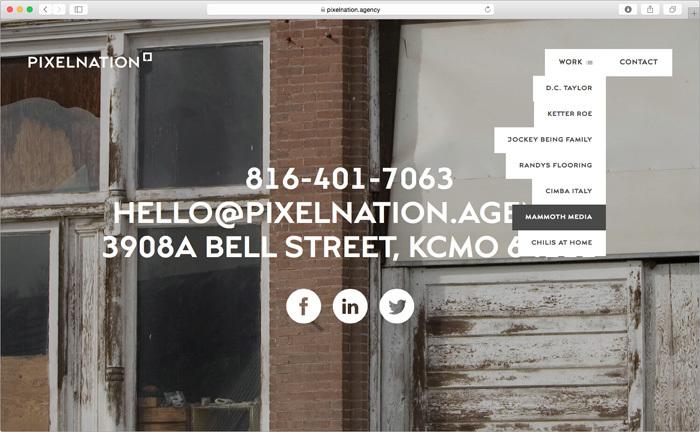 Pixelnation website 3