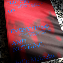 <cite>A Universal History of Everything and Nothing</cite> by Julie Mehretu