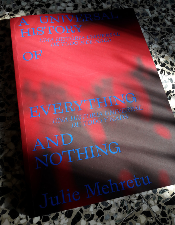 A Universal History of Everything and Nothing by Julie Mehretu 1