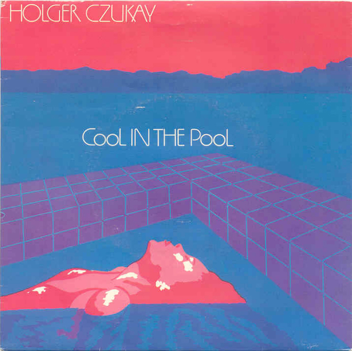 """Holger Czukay – """"Cool In The Pool"""" single cover"""