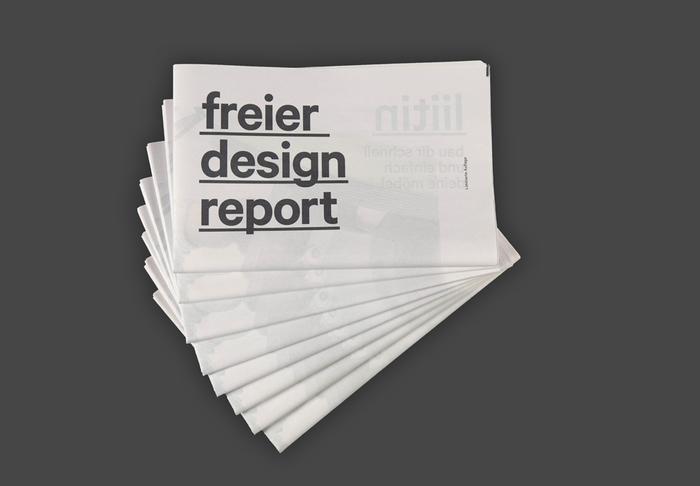 Freier Design Report 1