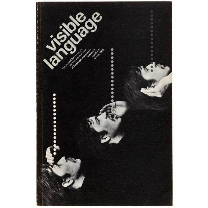 Visible Language journal, 1975 issue No. 33 1