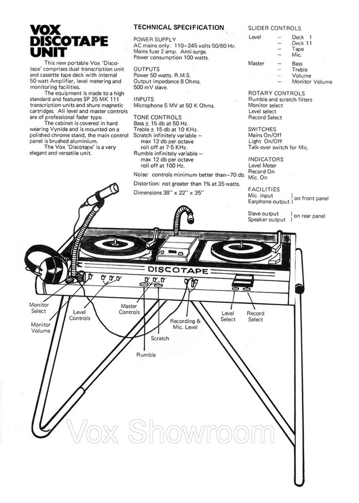 1971 Vox product catalog 3