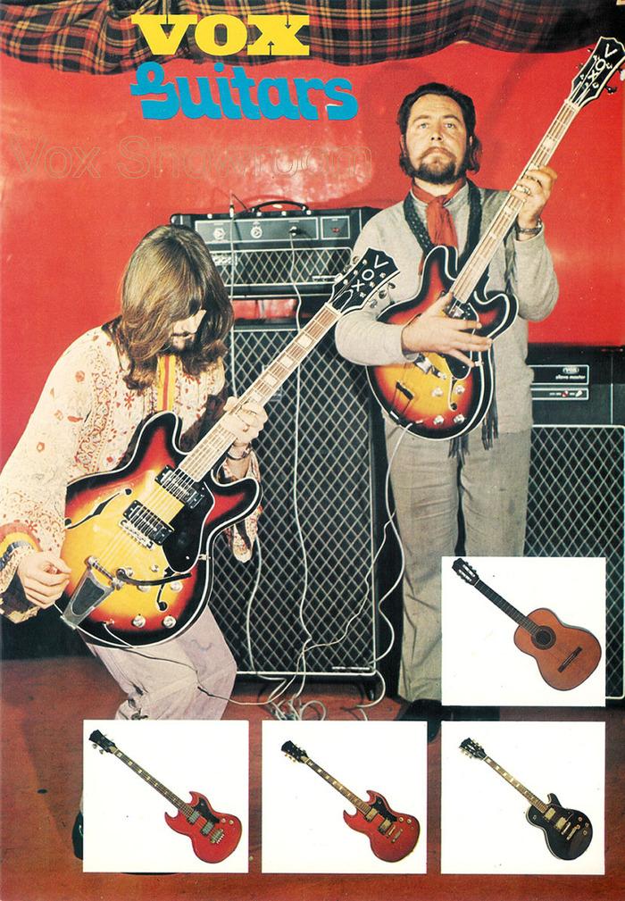 1971 Vox product catalog 5