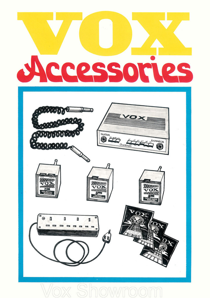 1971 Vox product catalog 8