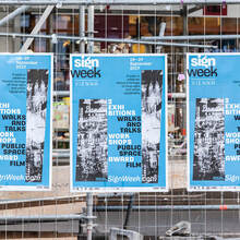 Sign Week Vienna 2017 printed matter