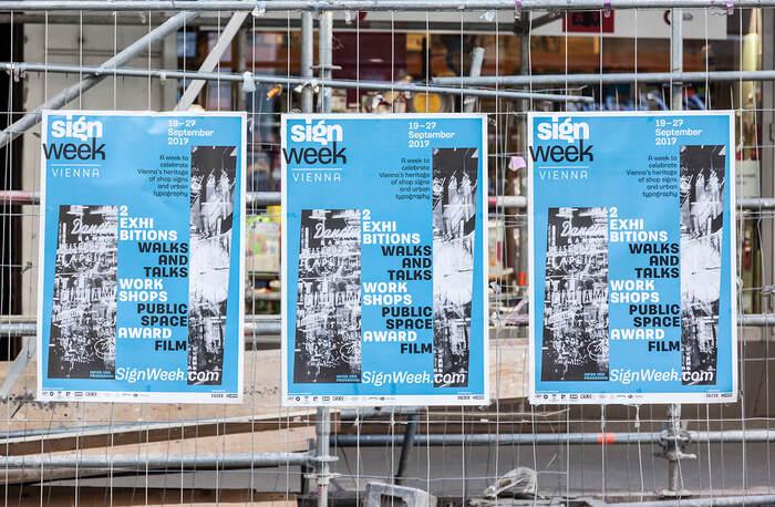 Sign Week Vienna 2017 printed matter 1