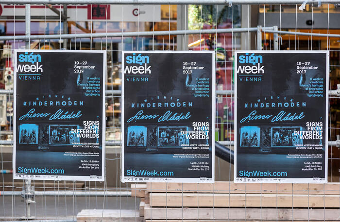Sign Week Vienna 2017 printed matter 2