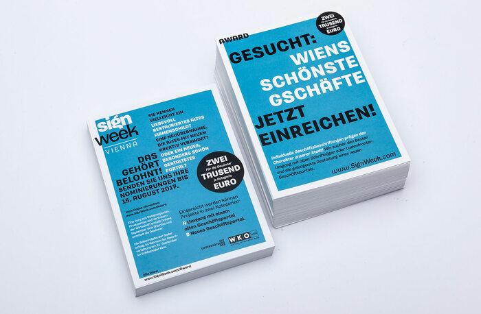 Sign Week Vienna 2017 printed matter 6
