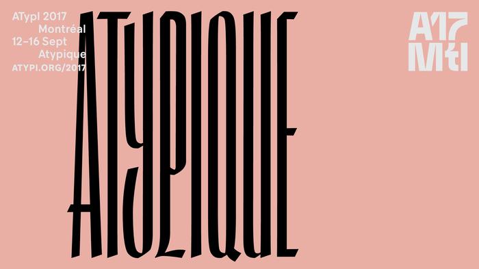 More lettering by Julien Hébert.