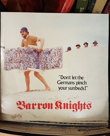 Barron Knights – <cite>Don't Let the Germans Pinch Your Sunbeds! </cite>