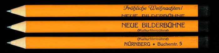 Neue Bilderbühne pencil 1